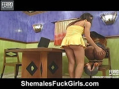 Kelly shemale screwing lady on video