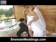 Camile attractive shemale bride