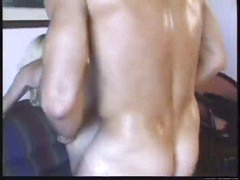 Hot action with sexy lady